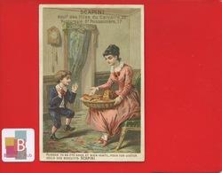 SCAPINI Biscuits Macarons Paris Milan Venise Chromo Sicard ? Enfant Sage Récompense - Other
