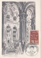 FDC163 - FRANCE N° 1575 Bal Des Petits Lits Blancs Sur Carte Maximum 1968 - Cartes-Maximum