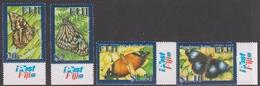 Fiji SG 1380-1383 2007 Butterflies, Mint Never Hinged - Fiji (1970-...)