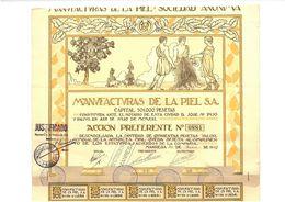 Manufacturas De La Piel S.A. (1923) - M - O