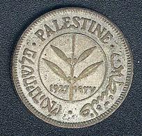 Palästina, 50 Mils 1927, Silber - Coins