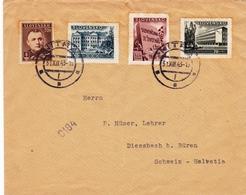 Nitra 1943 Tchécoslovaquie Československo Slovenská Republika Suisse Diessbach Bei Büren Suisse Gustav Ruhmann - Tsjechoslowakije