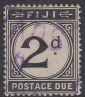 Fiji SG D 8 1918 Postage Due 2d Black, Used - Fiji (1970-...)