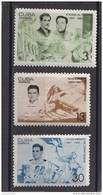 Cuba Nº 1091 Al 1093 - Unused Stamps