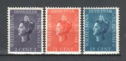 Surinam 1950 NVPH 187-189 MH (READ) - Suriname ... - 1975