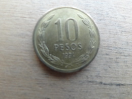 Chili  10  Pesos  1994 Km 228.2 - Chili