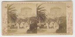 Stereoscopic Photo Messina's Dom,Sicily, 1890s - Stereoscopi