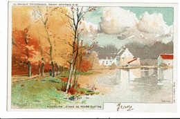 CPA - Carte Postale --Belgique -Bruxelles -Auderghem- Etang Du Rouge Cloître  VM1941 - Bossen, Parken, Tuinen
