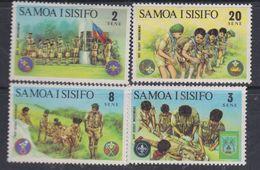 Samoa N° 319 / 22 XX Scoutisme, Les 4 Valeurs Sans Charnière, TB - Samoa