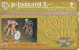 PTT-p: KP-93/56ZD 506L Stiftung Schweizer Sporthilfe - Bahnradrennen - Svizzera