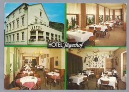 DE.- HOTEL JÄGERHOF. KAMP-BORNHOFEN Am RHEIN. Bes. G. Fedrowitz. - Hotel's & Restaurants