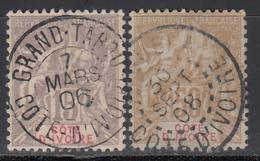 1900  Yvert Nº 15, 17, - Usados