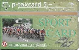 PTT-p: KP-93/56ZF 506L Stiftung Schweizer Sporthilfe - Rad Strassenrennen - Schweiz