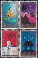 Samoa N° 328 / 31 XX Noël, Les 4 Valeurs Sans Charnière, TB - Samoa