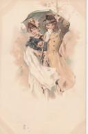 ***  Illustrateur Précurseur Mode  Costumes 19 Eime  Couple    TTBE Neuve/unused - Vor 1900