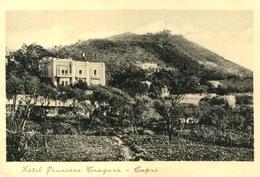 AK Capri Ca. 1935 (?) Hotel Pensione Tragara - Italie