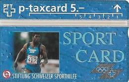 PTT-p: KP-93/56ZK 528L Stiftung Schweizer Sporthilfe - Leichtathletik, Sprint - Schweiz