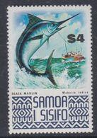 Samoa N° 336 XX Série Courante : Poisson : Espadon Sans Charnière, TB - Samoa