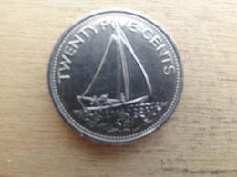 Bahamas  25  Cents  1977  Km 63.1 - Bahamas