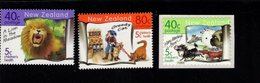 744643457 POSTFRIS  MINT NEVER HINGED EINWANDFREI SCOTT B162 B163 B164 CHILDRENS HEALTH ANIMALS CAT DOG LION - Nouvelle-Zélande