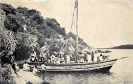 Malawi - African Dhow , Lake Nyasa - Autres