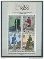 Grande Bretagne 1979 Bloc N° 2 Expo London 80 - Blocchi & Foglietti