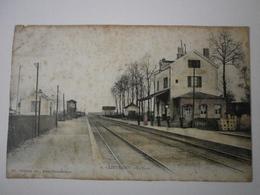77 Lieusaint, La Gare (A8p6) - France