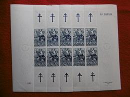 FRANCE LIBRE AIDE AUX RÉSISTANTS FRANCE COMBATTANTE 1943 FEUILLE - France