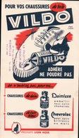 Ancien BUVARD Illustré VILDO Produits LION NOIR , A La Palette D'or à HONFLEUR - Buvards, Protège-cahiers Illustrés