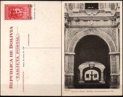 Bolivia 1943 CEFILCO TE 10 Serie Minería. Casa De Moneda De Potosi. Las Barras No Anulan 1.25. Resello Desplazado. - Bolivia