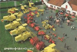 8Eb-279: Sperry New Holland Landbouwmachines Op Een Vlaamse Boerdeij... - Zedelgem