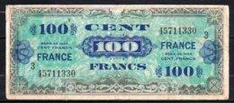 622-France Billet De 100 Francs 1944 Série 3 - 457 - 1944 Flag/France