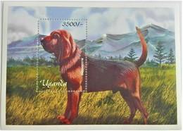 Uganda 2001**Mi.bl.337  Dog , MNH [7II;132] - Honden