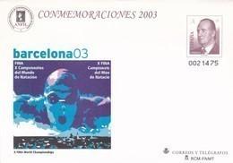 España Sobre Entero Postal Nº 87 - Stamped Stationery