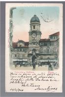 CROATIA Fiume Torre Civica Stadtthurm 1900 OLD POSTCARD - Croatia