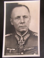 Postkarte Propaganda Ritterkreuz Feldmarschall Rommel DAK Afrika Korps Photo-Hoffmann - Guerre 1939-45