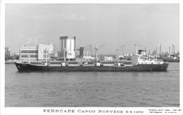 """¤¤  -   Carte-Photo Du Bateau De Commerce """" FERNCAPE """"  -  Cargo       -   ¤¤ - Commerce"""