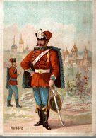 CHROMO  SOLDAT RUSSIE - Chromos