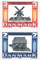 Ref. 96291 * NEW *  - DENMARK . 1988. WINDMILLS. MOLINOS - Dinamarca