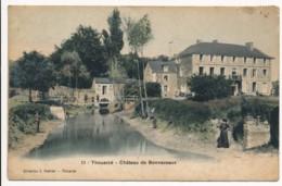 CPA 49 THOUARCE Château De Bonnezeaux - Colorisée - Thouarce