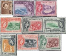 Ref. 213306 * NEW *  - DOMINICA . 1954. BASIC SET. SERIE BASICA - Dominica (1978-...)