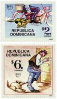Ref. 49817 * NEW *  - DOMINICANA . 1997. AMERICA-UPAEP. THE POST MAN. AMERICA-UPAEP 1997 -  EL CARTERO - República Dominicana
