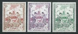 LAOS 1971 . Poste Aérienne  N°s 80 , 81 Et 82 . Neufs ** (MNH) - Laos