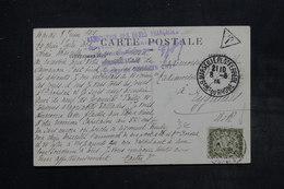FRANCE - Taxe De Eyguieres Sur Carte Postale De Marseille En 1915 - L 26984 - Lettres Taxées