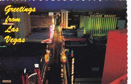 CPM GREETINGS FROM LAS VEGAS - Las Vegas