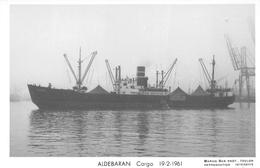 """¤¤  -   Carte-Photo Du Bateau De Commerce """" ALDEBARAN """"  -  Cargo       -   ¤¤ - Commerce"""