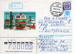 Cover: Kyrgyzstan, 1996. Railway. - Kyrgyzstan