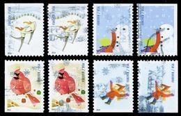 Etats-Unis / United States (Scott No.4937-40 - Plaisir D'hiver / Winter Fun) (o)  P2 + P3 - Used Stamps