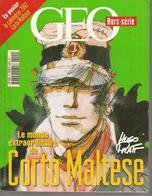 H  PRATT - CORTO MALTESE  -  GEO -HORS SERIE  -NOVEMBRE 2001 - Livres, BD, Revues