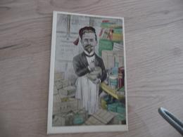 CPA Espéranto Illustrée Par Jean Robert C.Rousseau Farmuciisto Pharmacien - Esperanto